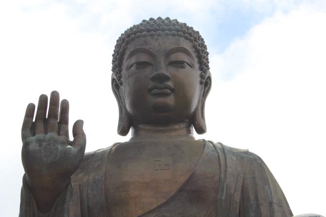 Meeting The Big Buddha On Lantau Island