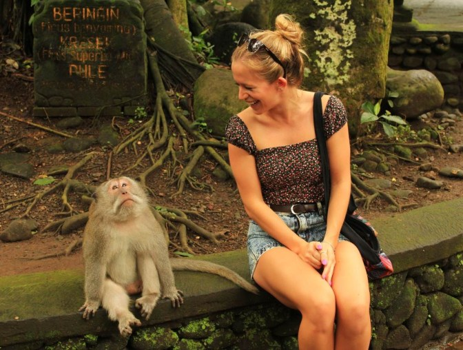 How To Survive The Monkey Forest In Ubud, Bali