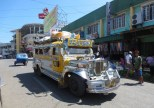 Jeepney's everywhere as the main mode of public transportation for locals
