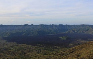 Can still see the devastation caused when the volcano last erupted