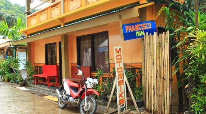 Accommodation in El Nido, Philippines