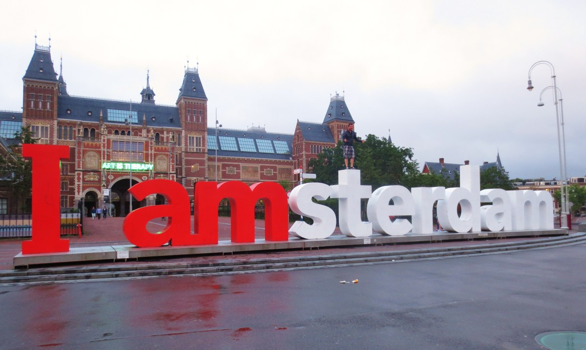 "Where To Find The ""I Amsterdam"" Letters"