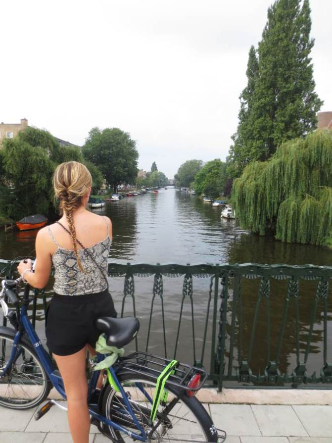 Renting Bicycles In Amsterdam