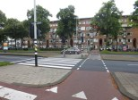 Navigating the mess that is Amsterdam's traffic system.