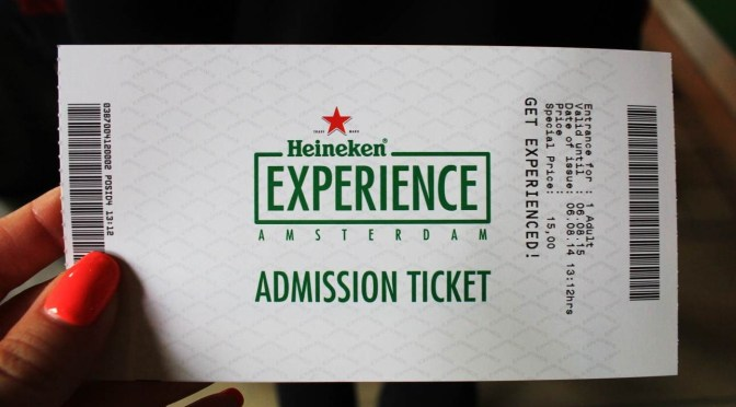 """Get Experienced"" At The Heineken Experience Brewery Tour, Amsterdam"